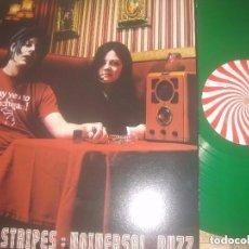 Discos de vinilo: THE WHITE STRIPES UNIVERSAL BUZZ RED ZEBRA 2004 PROMOTIONAL RADIO RECORD LIVE OG GMBH. Lote 105589539