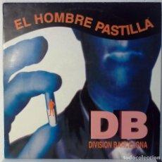 Discos de vinilo: EL HOMBRE PASTILLA - DIVISION BARCELONA SON - MAXI. Lote 105590831