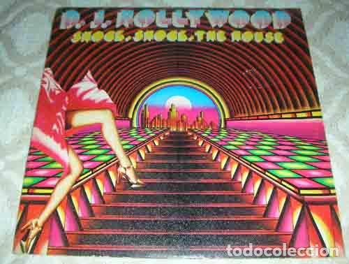 D. J. HOLLYWOOD – SHOCK, SHOCK THE HOUSE - SINGLE (Música - Discos - Singles Vinilo - Techno, Trance y House)