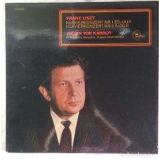 Discos de vinilo: FRANZ LISZT - JULIAN VON KAROLYI, PHILHARMONIA HUNGARICA, ISTVÁN KERTÉSZ – KLAVIERKONZERT NR.1. Lote 105596167