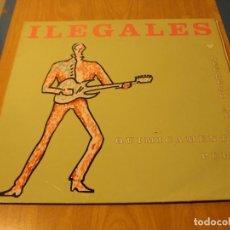 Discos de vinilo: LOTE LP ILEGALES REGRESO AL SEXO QUIMICAMENTE PURO SELLO HISPAVOX 1992....SALIDA 1 EURO. Lote 105600775