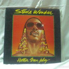 Discos de vinilo: DISCO STEVIE WONDER - HOTTER THAN JULY -. AÑO 1980.. Lote 105607787