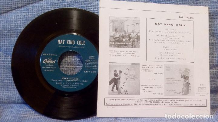 Discos de vinilo: NAT KING COLE - CAPUCCINA + 3 EP ESPAÑOL DEL AÑO 1962 - EAP 1-20.375 - VER FOTOS - Foto 2 - 105610071