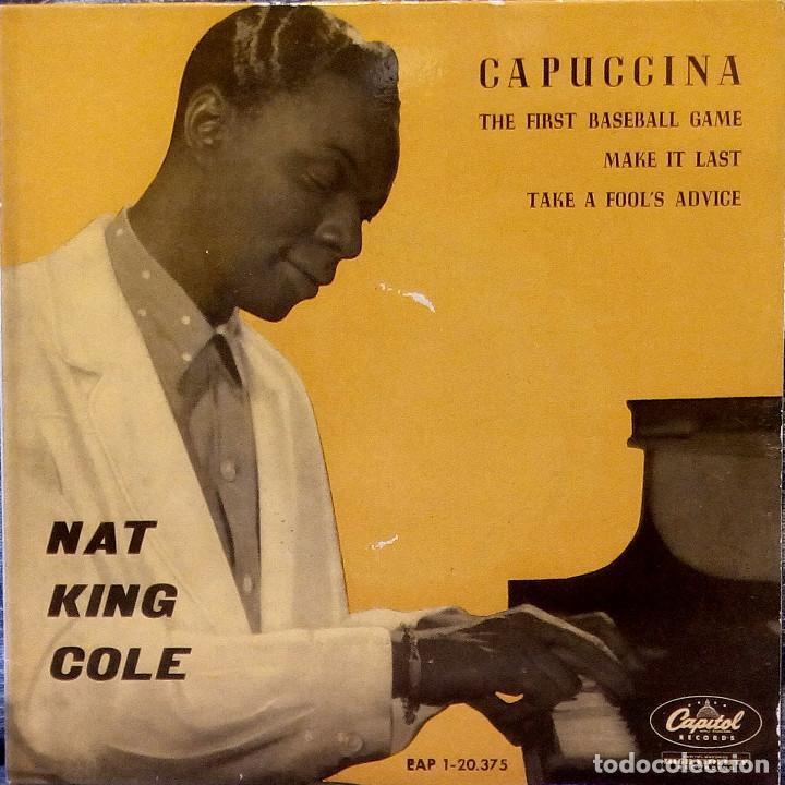 Discos de vinilo: NAT KING COLE - CAPUCCINA + 3 EP ESPAÑOL DEL AÑO 1962 - EAP 1-20.375 - VER FOTOS - Foto 3 - 105610071