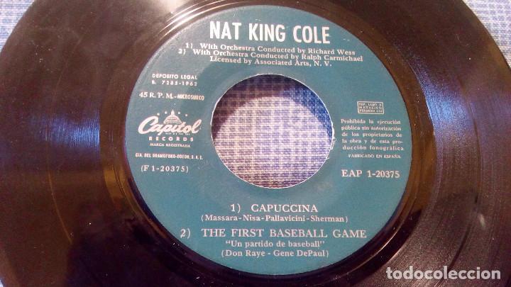 Discos de vinilo: NAT KING COLE - CAPUCCINA + 3 EP ESPAÑOL DEL AÑO 1962 - EAP 1-20.375 - VER FOTOS - Foto 5 - 105610071