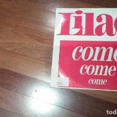 Discos de vinilo: LILAC-COME COME COME.MAXI ITALIA. Lote 105610287