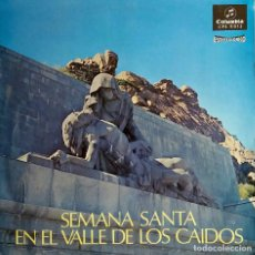 Vinyl-Schallplatten - SEMANA SANTA EN EL VALLE DE LOS CAÍDOS. ESCOLANÍA DE SANTA CRUZ VALLE DE LOS CAÍDOS. LP - 105611583