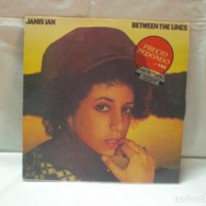 Discos de vinilo: DISCO JANIS IAN - BETWEEN THE LINES -. AÑO 1975.. Lote 105615487
