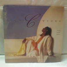 Discos de vinilo: DISCO RANDY CRAWFORD - RICH AND POOR -. AÑO 1989.. Lote 105618811