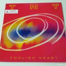 Discos de vinilo: T N T - FOOLISH HEART. Lote 105622670