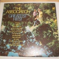 Discos de vinilo: LP THE ASSOCIATION. GREATEST HITS. CANADÁ 1967 (DISCO PROBADO Y BIEN). Lote 105624627