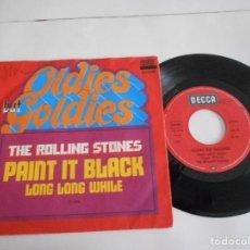 Vinyl-Schallplatten - The Rolling Stones ?– Paint It Black Long Long While-single 1966 germany - 105634475
