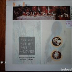 Discos de vinilo: MICHAEL NYMAN - THE COOK, THE THIEF , HIS WIFE & HER LOVER . Lote 105645399