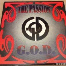 Discos de vinilo: G.O.D. (5) – THE PASSION. ESPAÑA. ÁREA INTERNACIONAL. 1993.. Lote 105645415