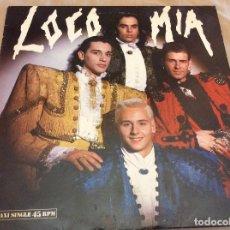 Discos de vinilo: LOCO MÍA. LOCO MÍA - EDITA HISPAVOX - 1989. Lote 105646263