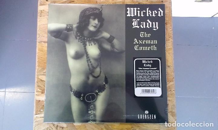 LP WICKED LADY THE AXEMAN COMETH HARD ROCK PROGRESIVO 70'S (Música - Discos - LP Vinilo - Pop - Rock - Extranjero de los 70)