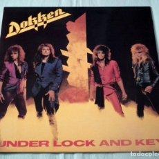 Discos de vinilo: LP DOKKEN - UNDER LOCK AND KEY. Lote 105653911