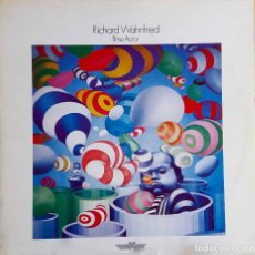 Discos de vinilo: RICHARD WAHNFRIED. (KLAUS SCHULZE). TIME ACTOR. LP ITALIA EN BASE RECORD. Lote 105668283