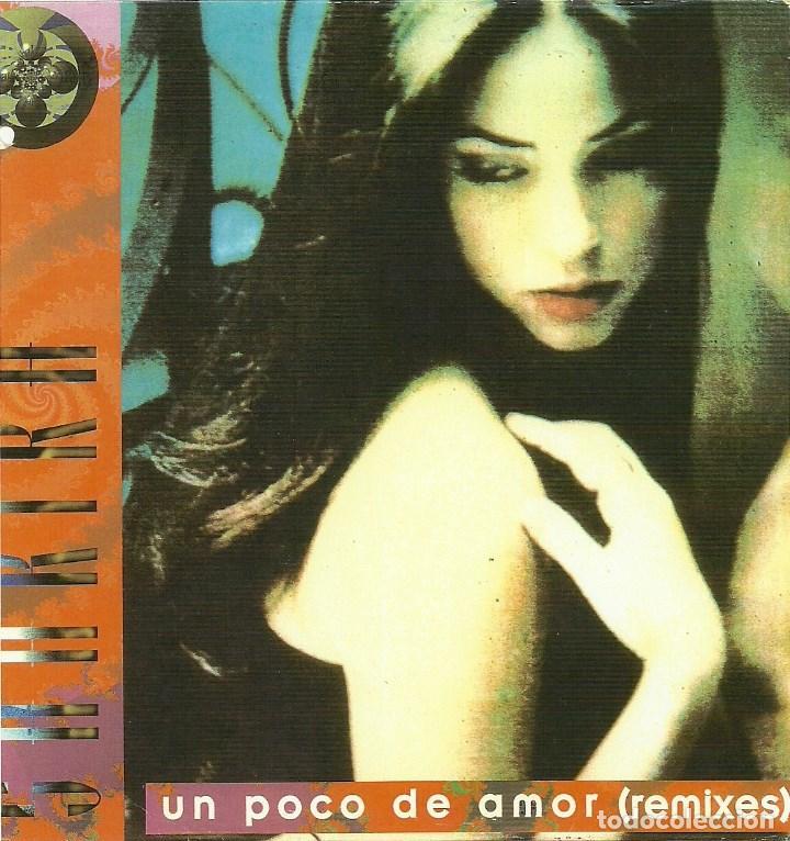 SHAKIRA. UN POCO DE AMOR (REMIXES) (VINILO MAXI PROMO 1996) (Música - Discos de Vinilo - Maxi Singles - Grupos y Solistas de latinoamérica)