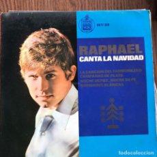 Discos de vinilo: RAPHAEL - CANTA LA NAVIDAD - EP HISPAVOX 1965. Lote 105679279