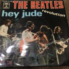 Discos de vinilo: THE BEATLES – HEY JUDE / REVOLUTION. Lote 105689131