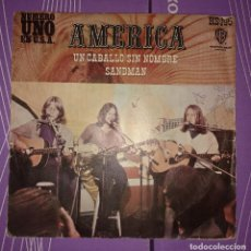 Discos de vinilo: AMERICA - UN CABALLO SIN NOMBRE. Lote 105690903