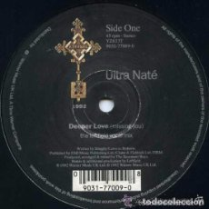 Discos de vinilo: ULTRA NATÉ - DEEPER LOVE (MISSING YOU) (LEFTFIELD MIXES) 12' UK 1992. Lote 105690939