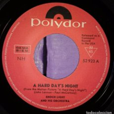 Discos de vinilo: ENOCH LIGHT AND HIS ORCHESTRA, ENOCH LIGHT AND THE LIGHT BRIGADE – A HARD DAYS NIGHT. Lote 105693171