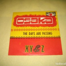 Discos de vinilo: XY & Z - SINGLE ED. ESPAÑOLA . Lote 105696307