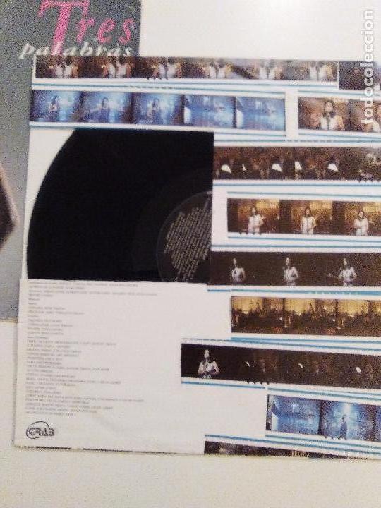 Discos de vinilo: MARIBEL VERDU Tres palabras ( 1993 MERCURY ESPAÑA ) RARISIMA EDICION ORIGINAL - Foto 7 - 105699171