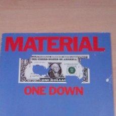Discos de vinilo: MATERIAL - ONE DOWN - - BUEN ESTADO -. Lote 105702195
