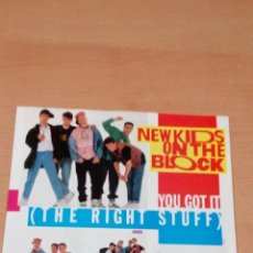 Discos de vinilo: NEW KIDS ON THE BLOCKS - YOU GOT IT - THE RIGHT STUFF - BUEN ESTADO. Lote 105706399