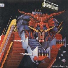 Discos de vinilo: JUDAS PRIEST_FREEWHEEL BURNING_SPAIN PROMO SINGLE 7''_1983_NUEVO!!!. Lote 105709187