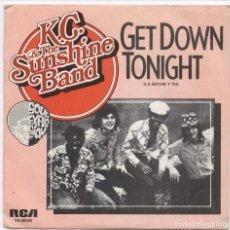 Discos de vinilo: K.C. AND THE SUNSHINE BAND_LA NOCHE Y TU/NO LO SABES_SPAIN SINGLE 7''_1975_NUEVO!!!. Lote 105711339