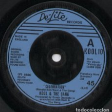 Discos de vinilo: KOOL & THE GANG_CELEBRATION/MORNING STAR_/ SINGLE UK_1980. Lote 105712431