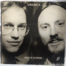 Discos de vinilo: AMERICA – SILENT LETTER. Lote 105729259