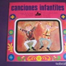 Discos de vinilo: CANCIONES INFANTILES EP DIM 1971 LA VIRGEN DE LAS NIEVES / UNA TARDE DE MAYO +4 . Lote 105731163