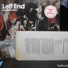 Discos de vinilo: LEFT END SPOILED ROTTEN LP USA 1964 PEPETO TOP . Lote 105739175