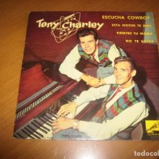 Discos de vinilo: EP : TONY AND CHARLEY : SPAIN 1961 . Lote 105739343