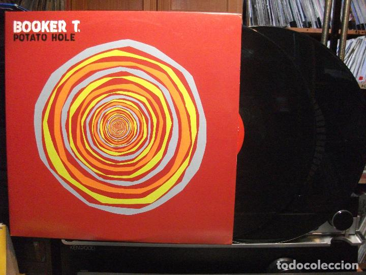 BOOKER T. POTATO HOLE LP USA 2009 PEPETO TOP (Música - Discos - LP Vinilo - Funk, Soul y Black Music)