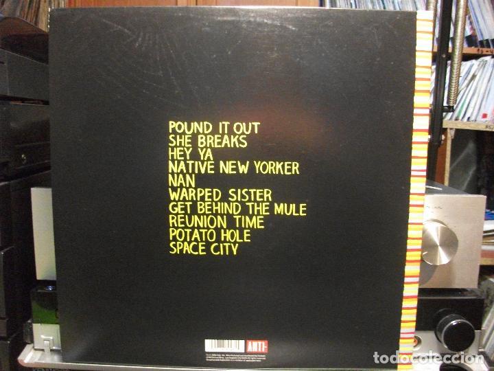 Discos de vinilo: BOOKER T. POTATO HOLE LP USA 2009 PEPETO TOP - Foto 2 - 105740711
