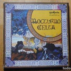Discos de vinilo: NOCTURNO CELTA. CAJA BOX 3 LP'S CON INSERTO. GUIMBARDA 1981. NUEVO. Lote 105741183