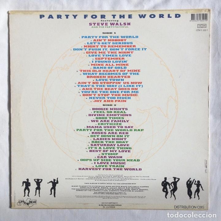 Discos de vinilo: The Party Faithful – Party For The World - Foto 2 - 105742131
