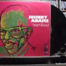 Discos de vinilo: JOHNNY ADAMS HEART & SOUL LP SPAIN 2004 PEPETO TOP. Lote 105742199