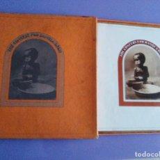 Discos de vinilo: CAJA 3 LP+ LIBRETO. GEORGE HARRISON. THE CONCERT FOR BANGLA DESH. APPLE 1971.& CLAPTON/DYLAN/RINGO. Lote 105742367