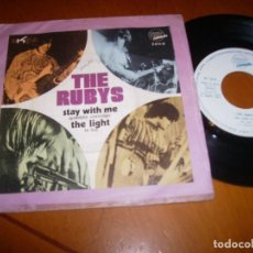 Discos de vinilo: 7'' : THE RUBYS : STAY WITH ME + 1 ED : SPAIN 1971. Lote 105744575