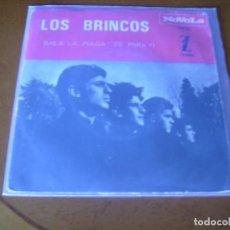 Discos de vinilo: 7'' : LOS BRINCOS : BAILA LA PULGA + 1 SPAIN 1965. Lote 105746023