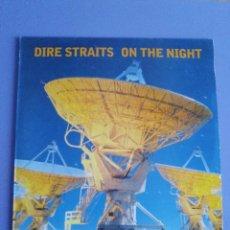 Discos de vinilo: LP DOBLE DIRE STRAITS. ON THE NIGHT. VERTIGO 1993. DOBLE ENCARTE CON FOTOS.. Lote 105746807