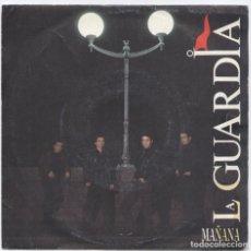 Discos de vinilo: LA GUARDIA_MAÑANA_SPAIN 7'' PROMO SINGLE_1990. Lote 105747199