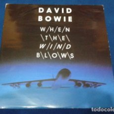 "Discos de vinilo: VINILO, 7"", SINGLE, 45 RPM ( DAVID BOWIE - WHEN THE WIND BLOWS ) 1986 VIRGIN. Lote 105768927"
